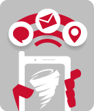 Severe Weather Alerts by Email and Text Message Logo