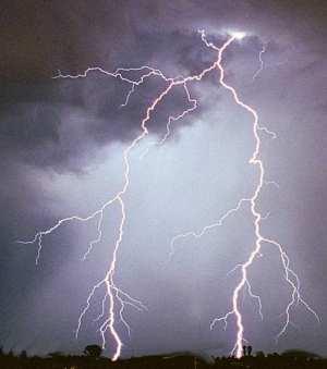 Lightning Stricks