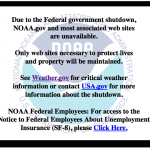 noaa.gov is closed but ialert.com is open to sending you severe weather and emergency alerts