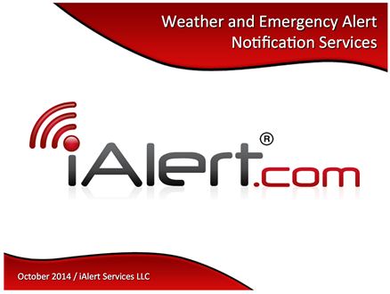 iAlert.com Weather and Emergency Alert Notification Services
