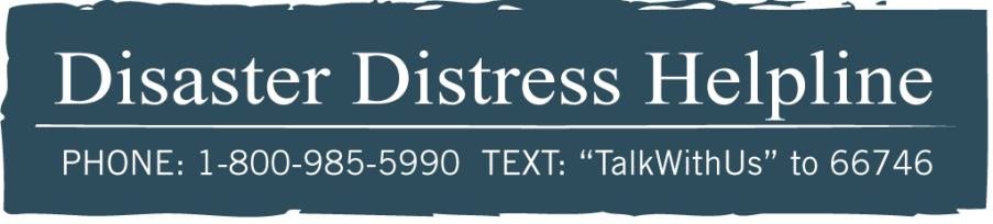 Disaster Distress Helpline 24/7 Image