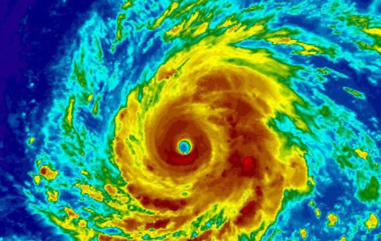 Hurricane Igor Radar Image