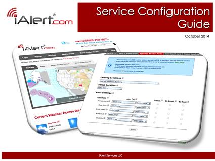 iAlert.com Service Configuration Guide
