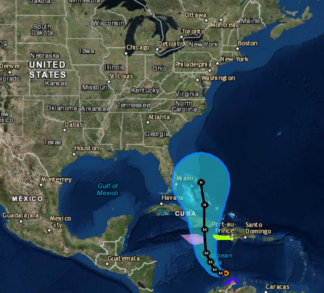 Hurricane MATTHEW update October 1 2016
