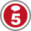iAlert.com New Reporter 5 Postings Badge
